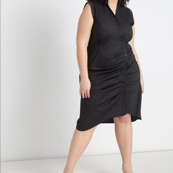 Eloquii Dresses & Skirts - Eloquii Shirtdress with Pleated Skirt NWT Size 16
